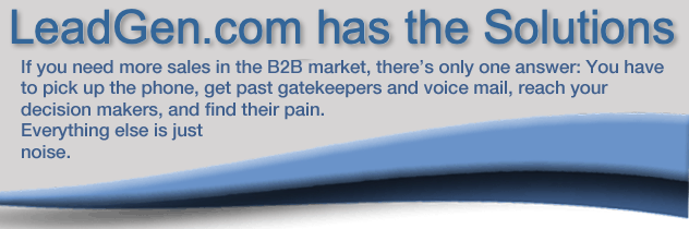 If you're competing in the B2B market, JV/M can help